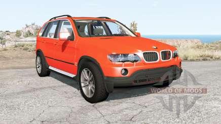 BMW X5 (E53) 2002 für BeamNG Drive