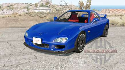 Mazda RX-7 Type R (FD3S) 2001 pour BeamNG Drive