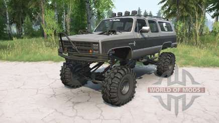 Chevrolet Suburban 1988 lifted pour MudRunner