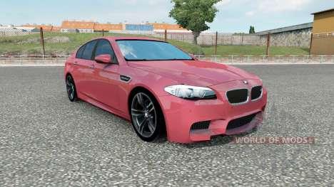 BMW M5 (F10) 2012 pour Euro Truck Simulator 2