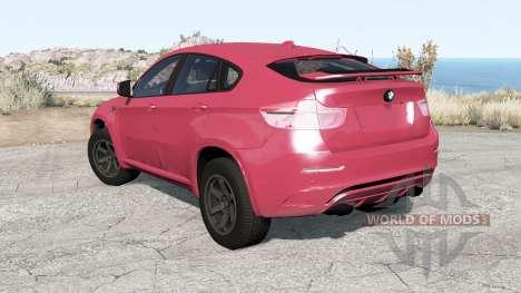 BMW X6 M (E71) 2010 pour BeamNG Drive
