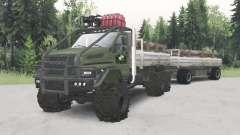 De l'oural-4320-6951-74 pour Spin Tires