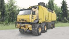 KamAZ-6560 Polar v1.1 für Spin Tires