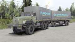 Ural-43Զ0-10 für Spin Tires