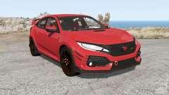 Honda Civic Type R (FK) 2018 für BeamNG Drive