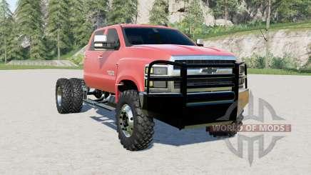 Chevrolet Silverado 4500 HD tractor truck pour Farming Simulator 2017