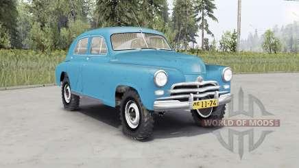 GAZ M-72 VON 1955 für Spin Tires