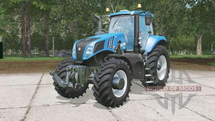 Nouveau Hollanɗ T8.320 pour Farming Simulator 2015