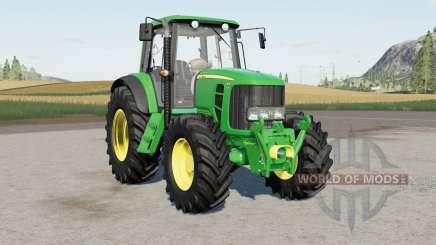 John Deere 7030 Premiuɱ pour Farming Simulator 2017