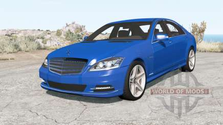 Mercedes-Benz S 600 (W221) 200୨ pour BeamNG Drive