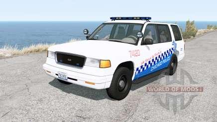 Gavril Roamer Chicago Police v1.31 pour BeamNG Drive