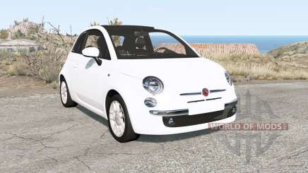 Fiat 500 (312) 2007 pour BeamNG Drive
