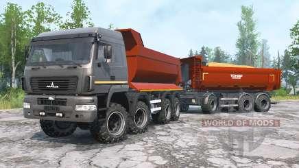 MAZ-6516В9 für MudRunner