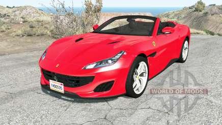 Ferrari Portofino 2018 pour BeamNG Drive