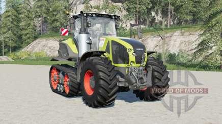 Claas Axion 930 & 960 Terra Trac für Farming Simulator 2017
