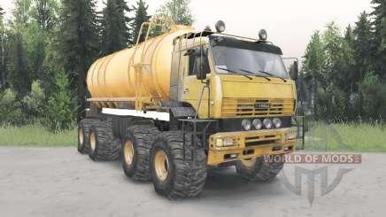 KamAZ-6560 Polar v1.2 für Spin Tires