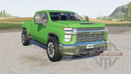 Chevrolet Silverado 2500 HD Crew Cab 2020 pour Farming Simulator 2017