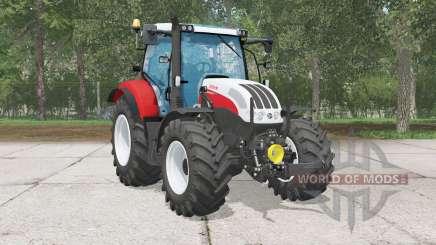 Steyr Profi 4130 CVŦ für Farming Simulator 2015