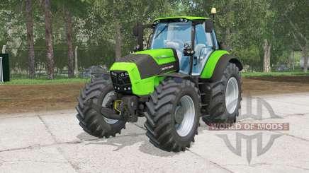 Deutz-Fahr 7250 TTV Agrotrꝋn pour Farming Simulator 2015