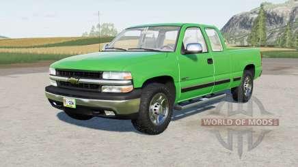 Chevrolet Silverado 1500 Extended Cab 1999 pour Farming Simulator 2017