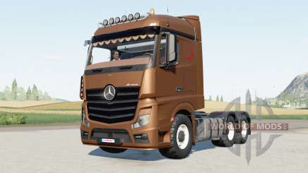 Mercedes-Benz Actros (MP4) 6x6 pour Farming Simulator 2017