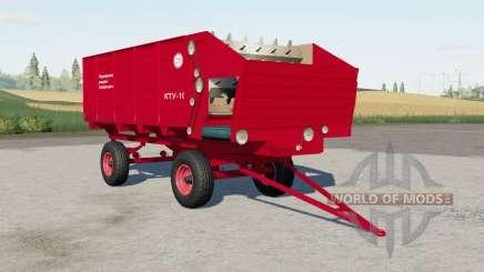 КТỾ-10 pour Farming Simulator 2017