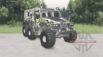 Trekol VEGA camouflage peinture pour Spin Tires
