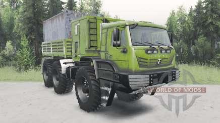 KamAZ-6345 De L'Arctique pour Spin Tires