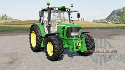 John Deere 6030 Premiuɱ pour Farming Simulator 2017