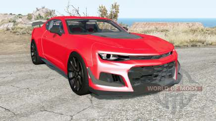 Chevrolet Camaro ZL1 1LE 2018 pour BeamNG Drive