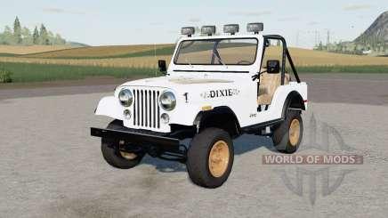 Jeep CJ-5 Renegade Daisys pour Farming Simulator 2017