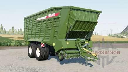 Fendt Tigo XR 75 Ɗ für Farming Simulator 2017