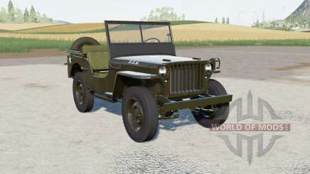 Willys MB 1945 pour Farming Simulator 2017