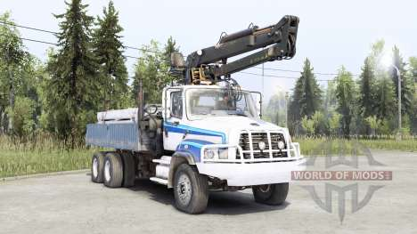 Freightliner 114SD pour Spin Tires