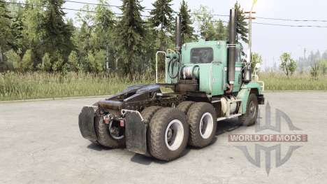 Freightliner M916A1 pour Spin Tires