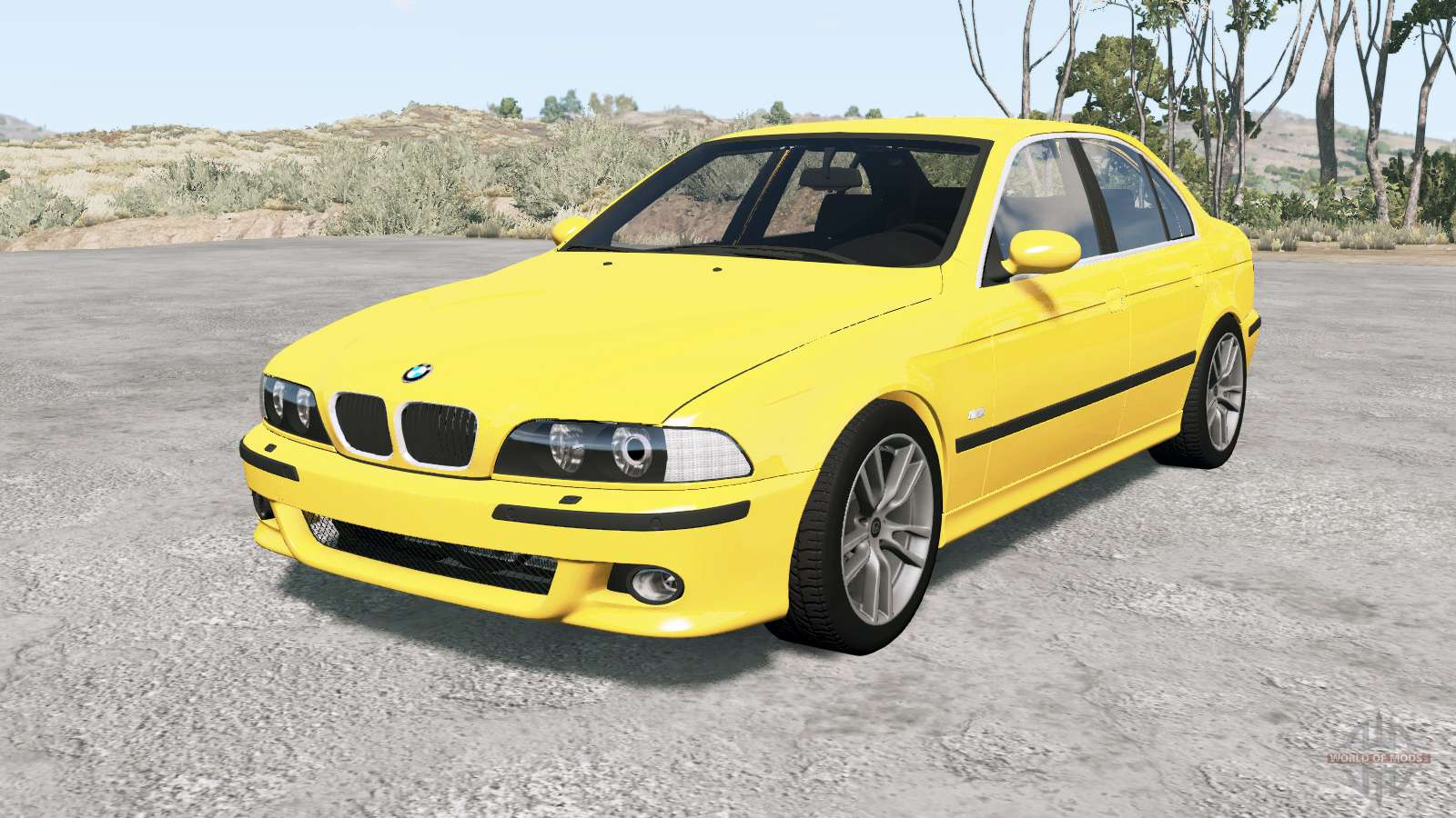 Bmw M5 E3୨ 2001 Für Beamng Drive