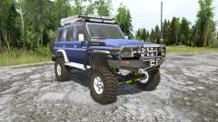 Toyota Land Cruiser (J76) 2007 pour MudRunner