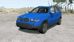 BMW X5 (E53) 200Ձ pour BeamNG Drive