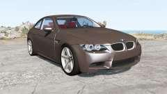 BMW M3 coupe (E92) 2007 pour BeamNG Drive