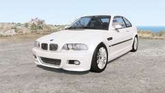 BMW M3 coupe (E46) 2001 für BeamNG Drive