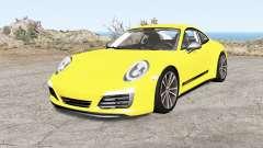 Porsche 911 Carrera T coupe (991) 2018 pour BeamNG Drive