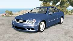 Mercedes-Benz CLK 55 AMG (C209) 2005 pour BeamNG Drive