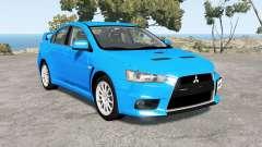 Mitsubishi Lancer Evolution X GSR (CZ4A) pour BeamNG Drive