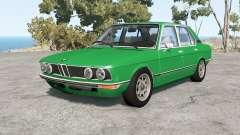 BMW 528i sedan (E12) 1977 v1.18 pour BeamNG Drive