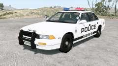 Gavril Grand Marshall Firwood Police v1.2 für BeamNG Drive