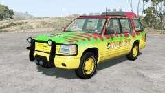 Gavril Roamer Tour Car Jurassic Park v4.1.5 pour BeamNG Drive