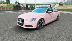 Audi A6 sedan (C7) 2011 für Euro Truck Simulator 2