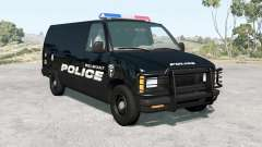Gavril H-Series Belmont Police v1.1 pour BeamNG Drive