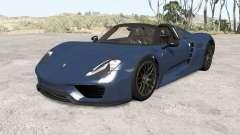 Porsche 918 Spyder 2014 v1.1 pour BeamNG Drive