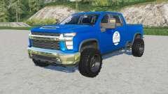 Chevrolet Silverado 2500 HD Crew Cab SpencerTV pour Farming Simulator 2017